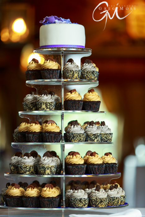 Beautiful cupcakes at a beautiful place