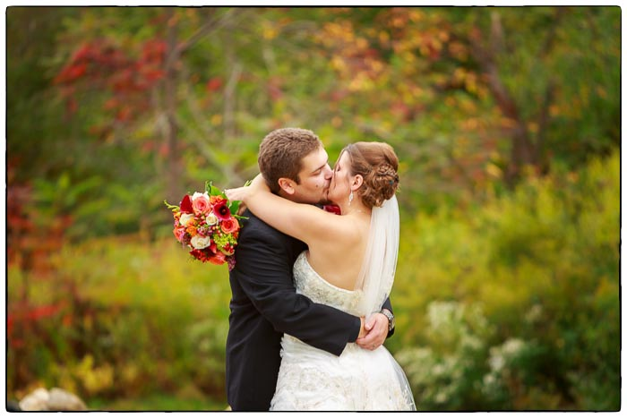 Bride and Groom Portrait, Western Massachusetts Wedding photographer