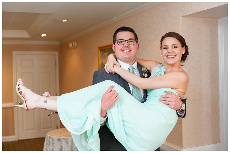 Wedding photography at the Hotel Northampton