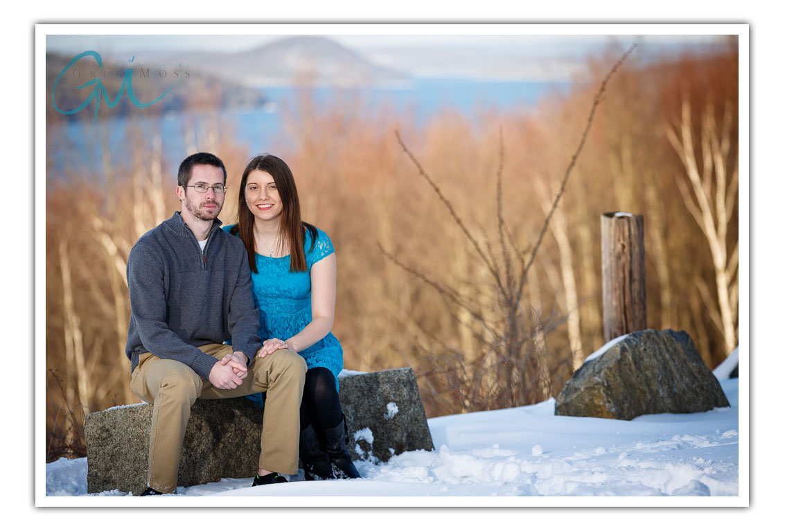 Quabbin Engagement Photography